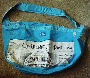 The Washington Post Delivery Bag