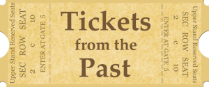 Tickets from the Past Logo