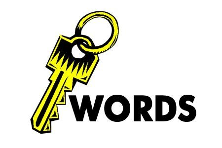 Applying keywords to writing and images