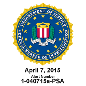 FBI WordPress Public Service Announcement