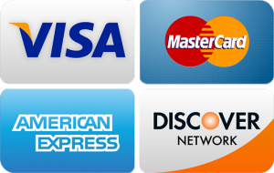 the four major credit cards