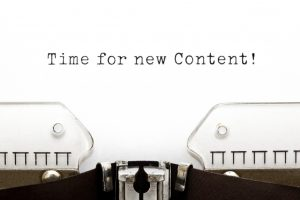 creating and organizing web content