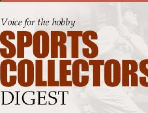 Buzzquake's client, Mark Townsend of Tickets From The Past, featured in Sports Collectors Digest